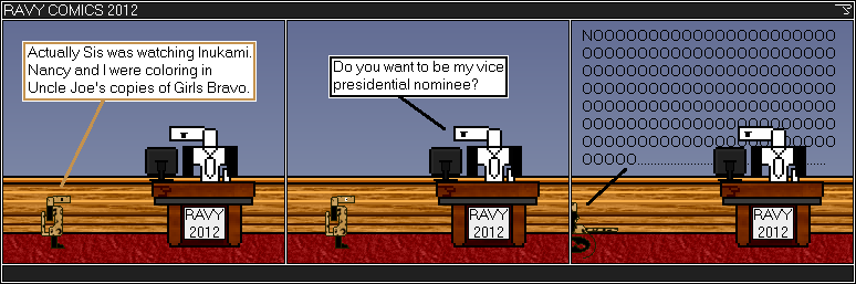 It is so hard to find a willing vice-presidential nominee.